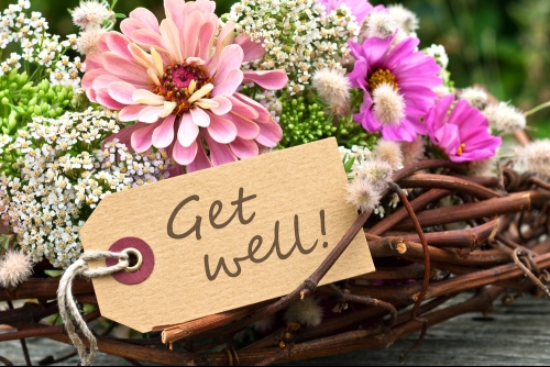 Get Well - Flowers